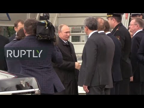 LIVE: Putin arrives in Paris for Jacques Chirac's farewell ceremony