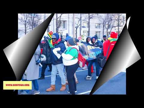 Togo Diaspora March Jan 13 2018 Washington DC
