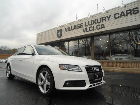 2010 Audi A4 in review - Village Luxury Cars Toronto