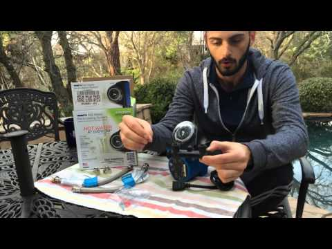 How Hot Water Recirculation Pumps Work - Watts 500800 Review