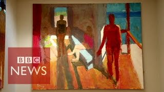Blind painter Sargy Mann: Painting with inner vision - BBC News