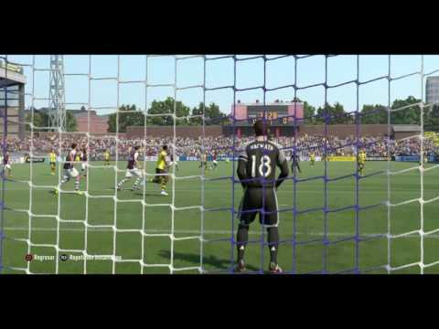 FIFA 17 Borusia Dourtmunt Castro Goal