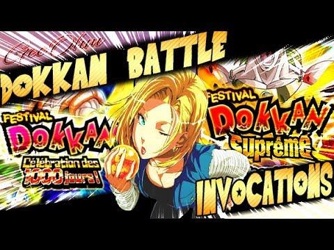 INVOCATIONS FESTIVAL DOKKAN SUPREME & 1000 JOURS - DOKKAN BATTLE