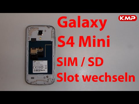 galaxy s3 sim slot wechseln