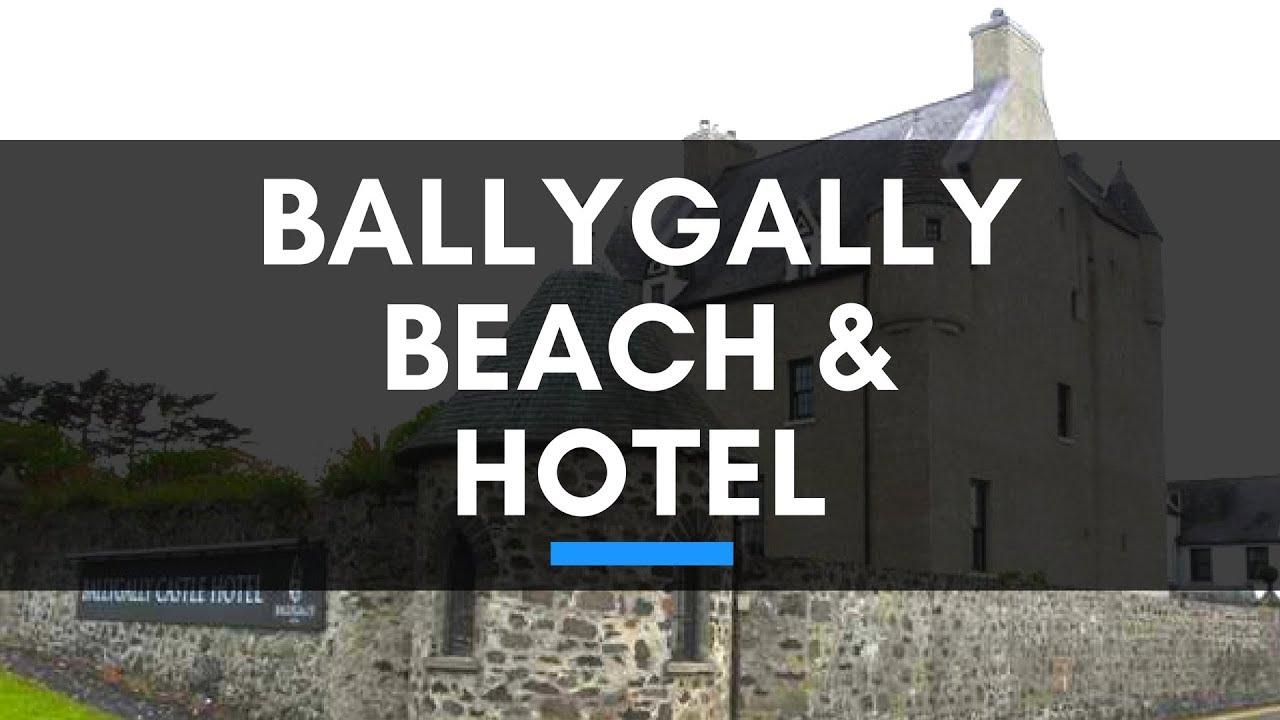 Ballygally Beach Ballygally Castle Hotel 360 Degree Video Youtube