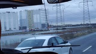 Цветной город Новая Охта 193 маршрут