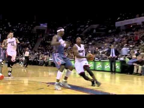 Miami Heat vs Charlotte Bobcats (109 - 97) february 4, 2011