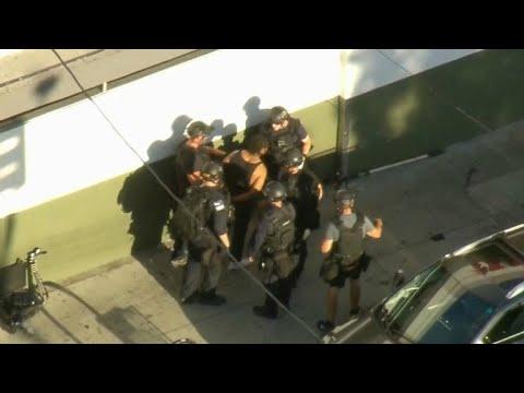 Suspect in Trader Joe's hostage situation taken into custody
