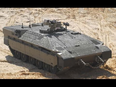 Namer APC (Israeli Army Armoured Personnel Carrier Based On The Merkava)