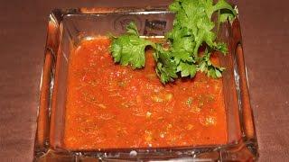 Salsa Sauce | Dip | Mexican | Jain Recipe | Simply Jain