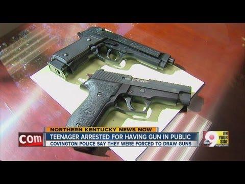 Teen's toy gun looks real to cops
