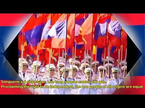 National Anthem:Lao People's Democratic Republic-Pheng Xat Lao