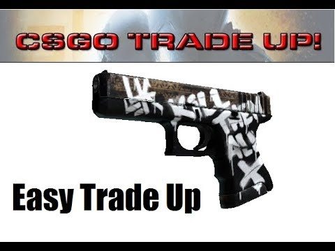 Upgrading Glock 18 Reactor to Glock 18 Rebel Trade Up - csgogem