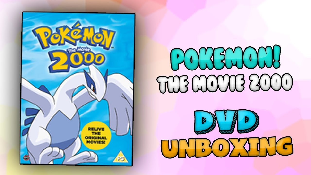 Pokemon The Movie 2000 Dvd Unboxing Youtube