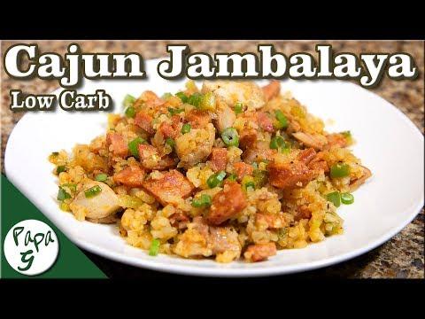 High-Protein Cajun Jambalaya