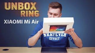 XIAOMI laptopas?   XIAOMI Mi Air   Unbox Ring apžvalga