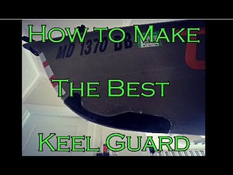 Easy-to-build kayak keel guard - FishingYaks