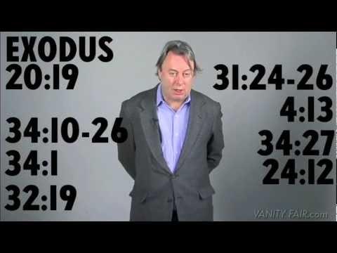 Christopher Hitchens Revises the Ten Commandments