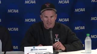 Texas Tech Baseball NCAA Super Regional: Game 3 Press Conference | 2019