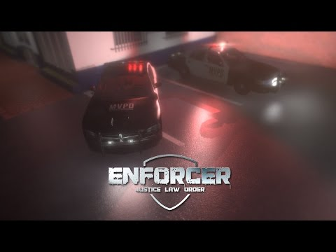 Enforcer: Police Crime Action - Day 1 - Rookie (Live Stream)
