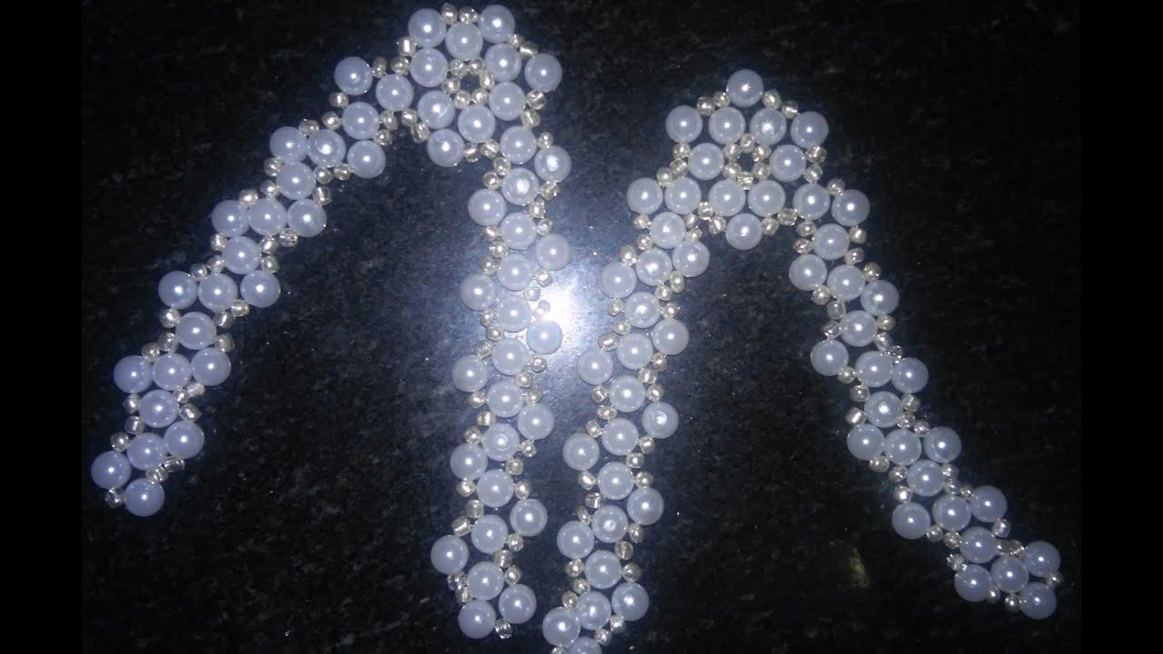 Amado Modelo de Flor com miçangas. - YouTube PJ95