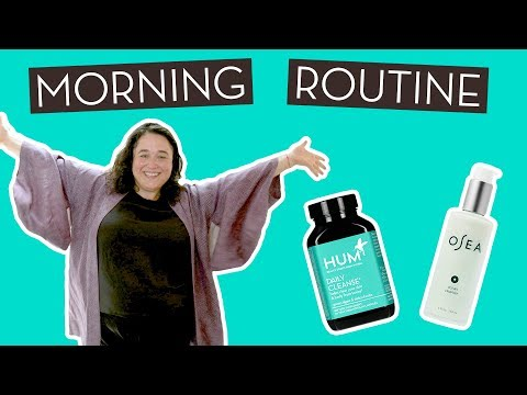 Morning Routines: HUM Nutrition x OSEA with Melissa…}