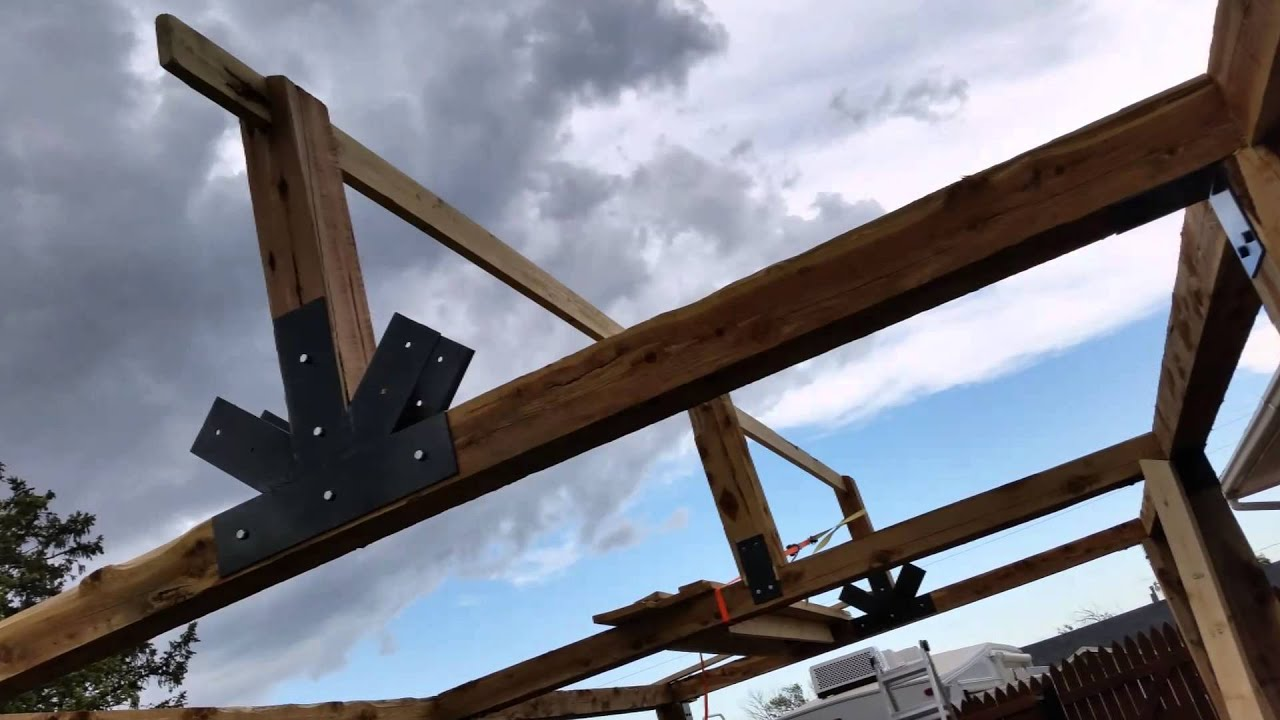How To Build A Cedar Patio
