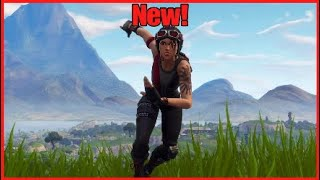 Winning with new Chopper skin-Fortnite Battle Royale