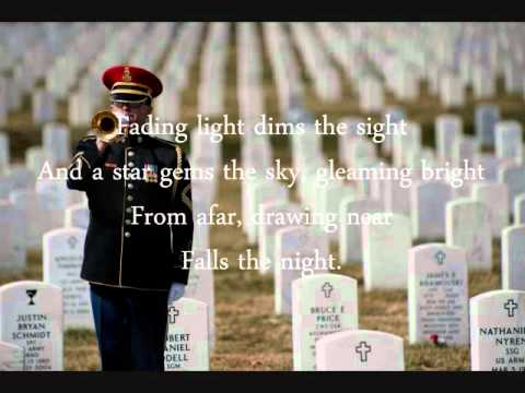 Taps with lyrics