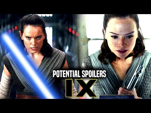 Star Wars Episode 9 Rey's Parents! Potential Spoilers & More!