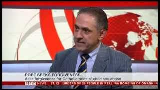 Jack Valero on BBC News on the Pope's apology for clerical sexual abuse
