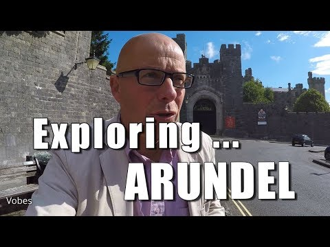 Walks in Sussex: Exploring Arundel, Sussex