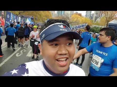 Episode 2 Of My 2018 NYC Marathon Vlog - Abbott Dash To The Finish Line 5k
