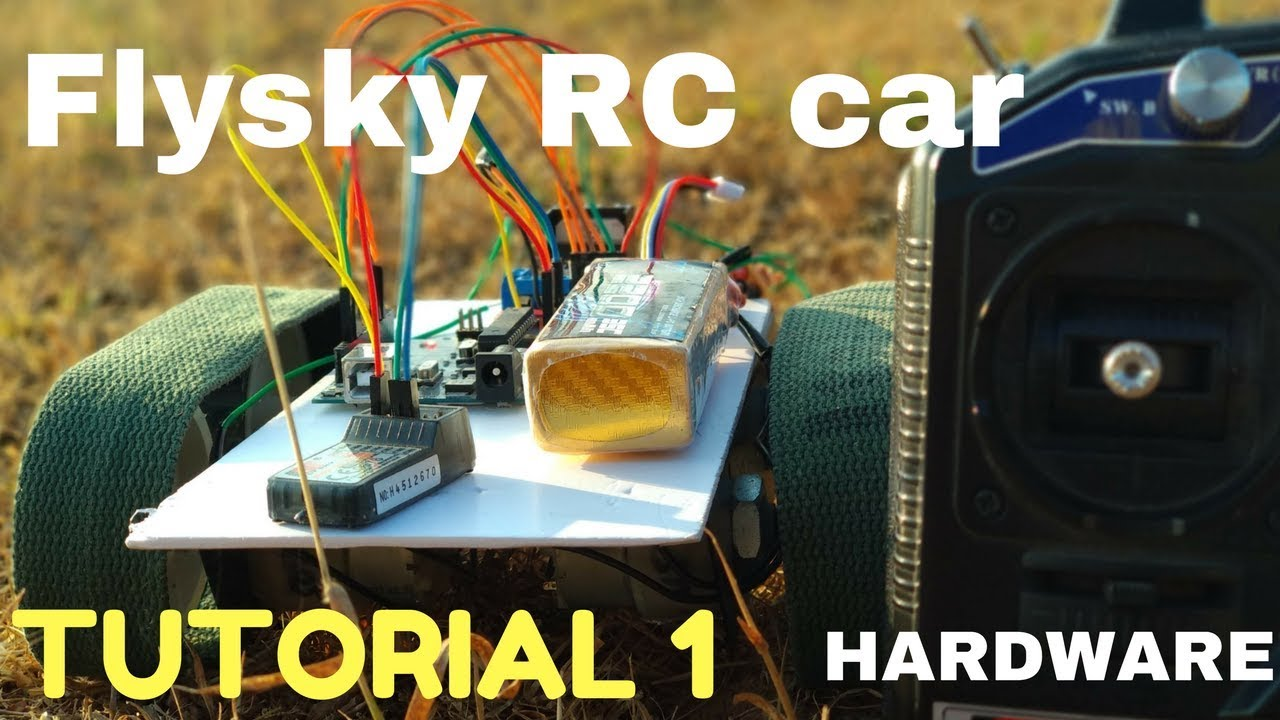 Flysky Controlled Rc Car Using L298n Motor Driver How To Connect H Bridge Diagram Along With Circuit Applications L298 Transmitter And Receiver