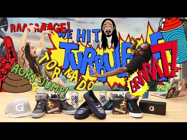 Steve Aoki & Snoop Test Apps & Talk Sh*t on GGN