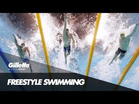 Mack Horton on Freestyle Swimming | Gillette World Sport