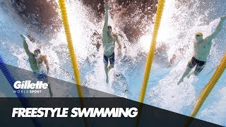 Mack Horton on Freestyle Swimming | Gillette World Sport