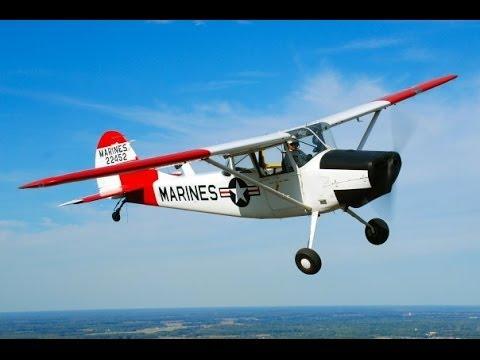 Bill Finney & his L-19A Birddog - Fly/In Cruise/In