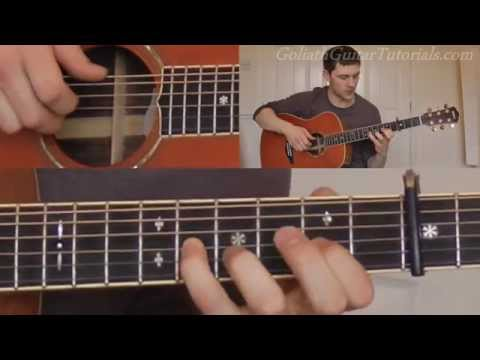 How To Play Only Love - Ben Howard - Guitar Lesson / Tutorial
