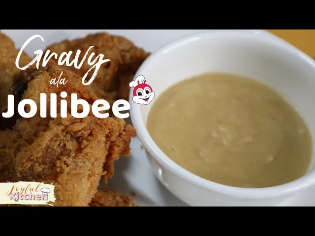 How To Cook Gravy Ala Jollibee Youtube