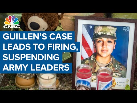 Vanessa Guillen's case leads to 14 army leaders fired for systematic failures at Fort Hood