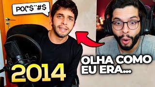 VERGONHA!? REAGI AO MEU PRIMEIRO VIDEO MOSTRANDO O ROSTO!! (10 MIL INSCRITOS)