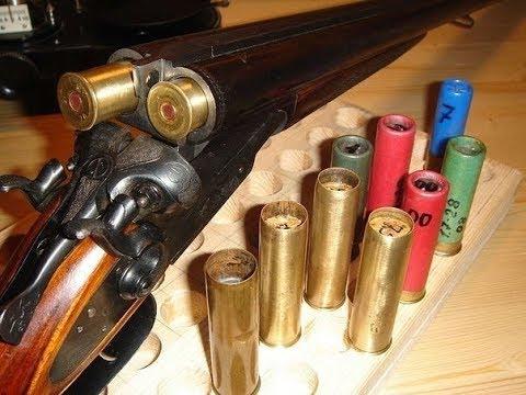Снаряжение латунных патронов 16 калибра в домашних условиях