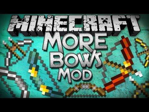 minecraft-mods-|-more-bows-mod---so-many-bows!---mod-showcase