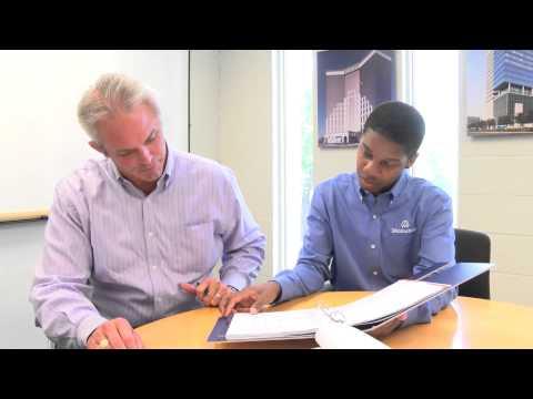 Taylor Williams talks internship with Manhattan Construction