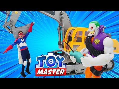 Испытания для Джокера - Новый экскаватор Бэтмена! Шоу Той мастер с супергероями