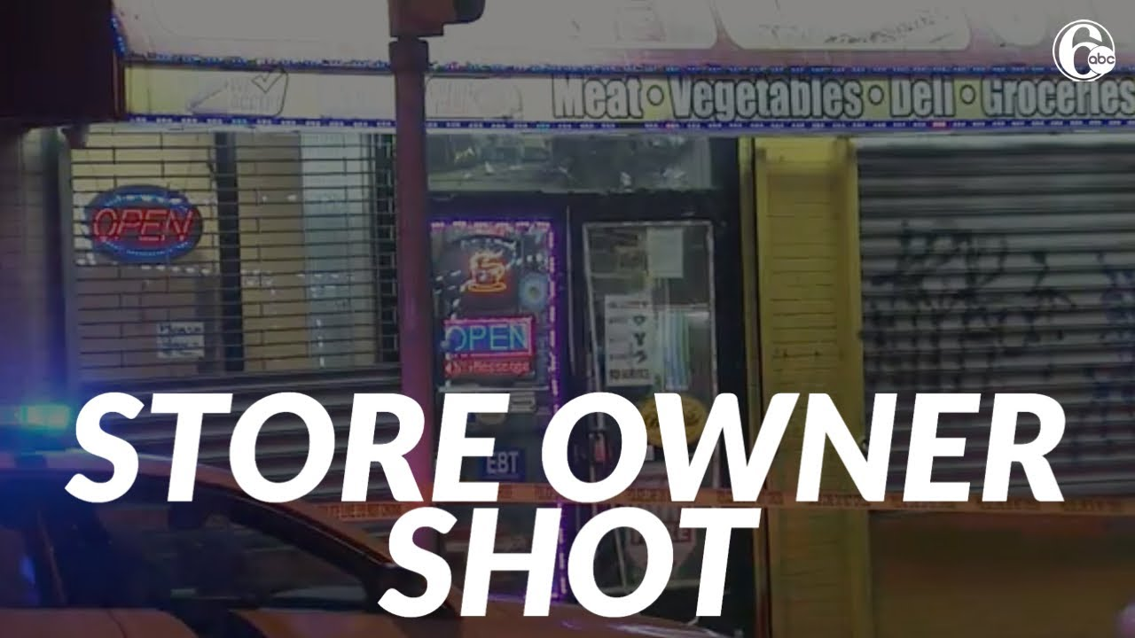 Store owner shot in head while closing security gates to business