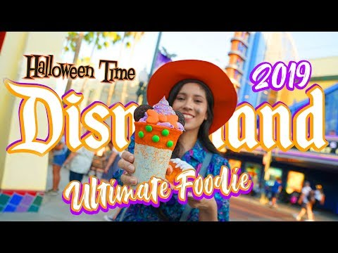 NEW Ultimate Foodie Guide To HalloweenTime At Disneyland 2019