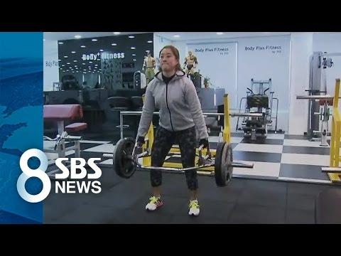 근육 늘리고 실력도 '쑥쑥'...여자 골프도 '몸짱' 바람 / SBS