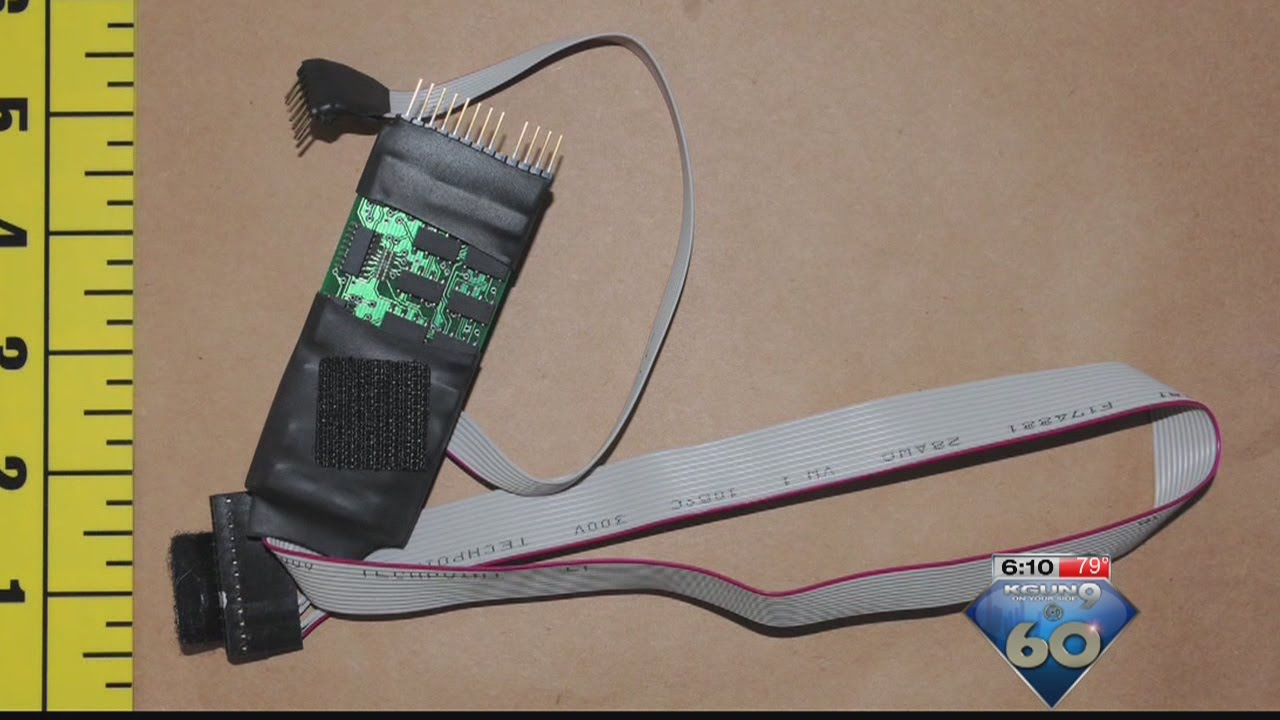 New hard to detect credit card skimmers